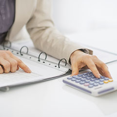 Calculating business valuation