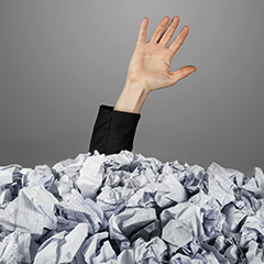 Too Much Paperwork? What You Can Throw Away After Filing