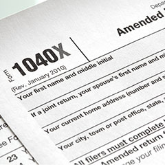 Amend a Tax Return