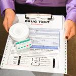 form titled 'Drug Test'